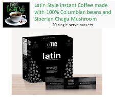 Iaso Cafe Latin Style COFFEE - Instant - TLC - CHAGA Mushroom Health Benefits!