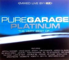 PURE GARAGE PLATINUM - 3 X CDS MIXED BY DJ EZ - UK & SPEED GARAGE CD CDJ DJ
