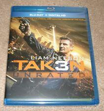 Taken 3 (Blu-ray Disc, 2015, Includes Digital Cloud Ultraviolet Copy)