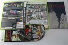 XBOX 360 GRAND THEFT AUTO EPISODES FROM LIBERTY CITY PAL UK COMPLETO