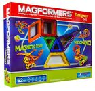 Magformers Designer Set 62pc Magnetic Construction Building Creativity Magnets