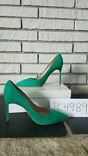 NWT Manolo Blahnik Green Suede 105mm BB pumps heels size 39 US 8.5 9 receipt