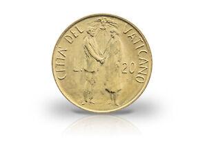 20 Lire 1982 Vatican Pape Johannes Paul Ii. La Mariage