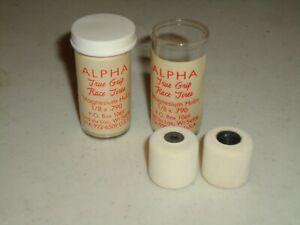 1/24  ALPHA WHITE  REAR  TIRES 1/8 .790  NOS