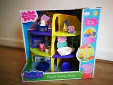 Peppa Pig Deluxe Family Home House Large Playset With Figure Toy 3+ Girl Boy