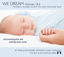 We Dream 2 Disc Set - Lullaby Sleep CDs - Helps You and Your Baby Sleep - NEW