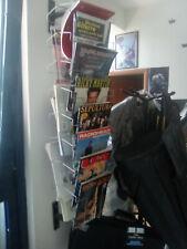 ESPOSITORE girevole per riviste e spartiti IN FERRO,  SOSPESO altezza 110 cm