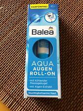 Balea Aqua Eye Roll-on Gel Creme Vegan 0.5 Oz