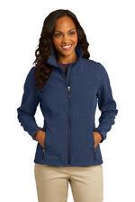 New Eddie Bauer Ladies' Shaded Crosshatch Soft Shell Jacket Blue