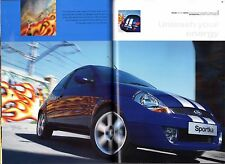Ford Ka Sportka & StreetKa 2005-06 UK Market Sales Brochure