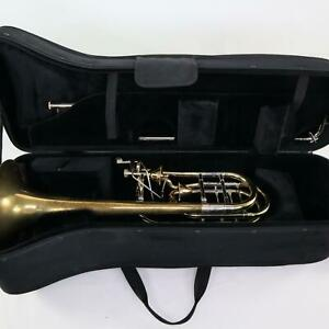 S.E. Shires Bass Trombone Dual Dependent Thayer Valves SN 3523 EXCELLENT