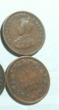 INDIA, LOT OF 10 PIECES 1/12 ANNA GEORGE V