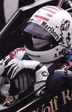 Arturo Merzario Firmato Wolf-Williams Ritratto Stagione GRAND PRIX 1976
