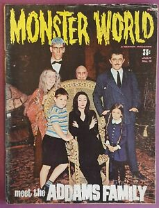 Monster World Magazine #9 July 1966 - Addams Family Special!