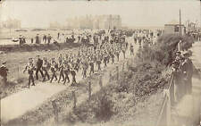 Shifnal posted & written Military March.? Railway Station at right. Harris-Edge.