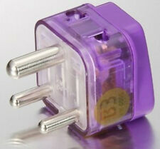 POWER Travel Adapter Plug for INDIA NEPAL PAKISTAN Outlet Type D 2-Ports & SURGE