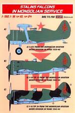 KORA Decals 1/72 STALIN'S FALCONS IN MONGOLIAN SERVICE Polikarpov Fighters
