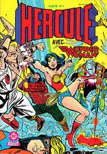 HERCULE   ALBUM  RELIE  N°1 : (N°1,2)  EDITION   DC/ AREDIT