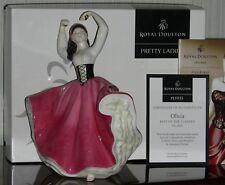 """Royal Doulton Pretty Ladies Figurine """" Olivia """" NIB"""