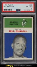 1961 Fleer Basketball Bill Russell #38 PSA 6 EXMT