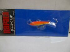 Rapala Jigging Rap  W5 GFR gold fluorescent red NIB