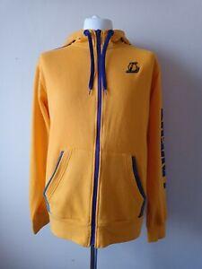 Adidas NBA LA Lakers Full Zip Hoodie Hoody Adults size Large L