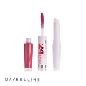 Maybelline SuperStay 24hr 2 Step Colour Lipstick 100 Very Cranberry