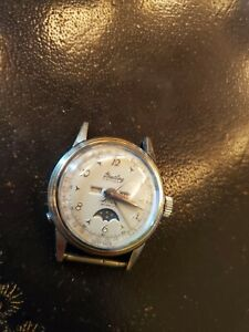 Breitling DATORA triple date with moon phase watch