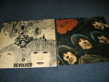 2 LP-  The Beatles - Revolver - Rubber Soul / HörZu - Odeon - Goldrand