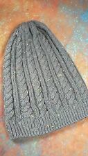 SOVIET CABLE KNIT BEANIE HAT