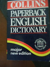 collins paperback englisg dictionary