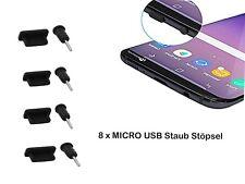 8x Handy Staubschutz Stöpsel | für Huawei Mate 10 Lite | Micro USB & AUX