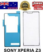 Sony Xperia Z3 L55 D6603 Adhesive Sticker  LCD Plate Battery Back Cover Housing