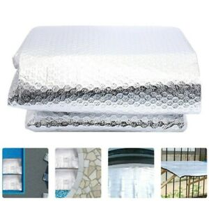 6.5FT/13FT Swimming Pool Solar Blanket Cover PE Heat Insulation Film Protector