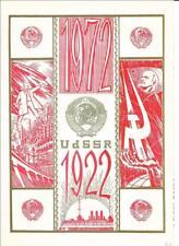DDR Gedenkblatt 50 Jahre UdSSR in Farbe Grün - Bronze von 1972
