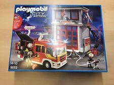 Playmobil City Action 9052 Feuerwehr und Station Neu OVP
