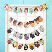 Kpop BTS WANNAONE GOT7 BLACKPINK papier affiche de drapeau HD raccrochez Photo