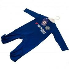 Chelsea FC Official Crested Baby Sleepsuit To Fit 3/6 Months