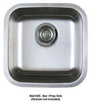 BLANCO 441026 STELLAR Undermount Stainless Steel Bar/Prep Sink