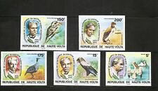 Burkina Faso SC # 386-389,C212,C214 Albert Schweitzer . Imperforated. MNH