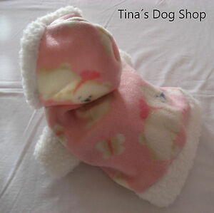 Tina´s Dog Shop - Hundebekleidung Hundemantel Hundejacke Hundepullover Pulli