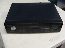 Sharp Model Vc-A572U Vhs Vcr 4 Head Super Picture Video Cassette Recorder