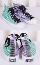 CONVERSE x MISSONI Womens All-Star Mutlicolor Striped Hi-Top Sneaker Trainer 9.5