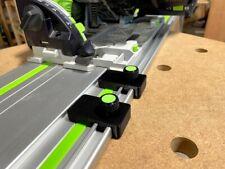 Festool Guide Rail Limit Stops - Pair of 2 for Festool Track Saw Guide Rails