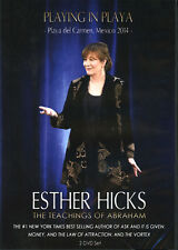 Abraham-Hicks Esther 2 DVD PLAYING IN PLAYA - NEW