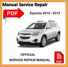 Chevrolet Equinox 2010 2011 2012 Factory Service Repair Workshop Manual