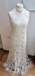 H&M HM CONSCIOUS EXCLUSIVE ORGANIC LACE DRESS BRIDAL/WEDDING Medium