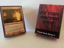 MTG Standard & Theme Decks - Red Black Minotaur Tribal Magic the Gathering