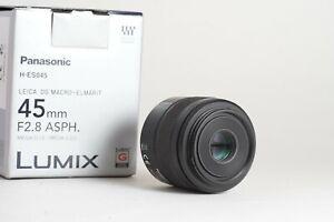 Lumix Leica DG Macro-Elmarit 45mm f/2.8 ASPH MEGA O.I.S Micro Four Thirds