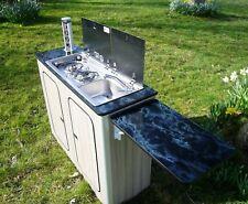 Camper Van Kitchen Pod Motorhome Furniture Unit Built to Order gas hob sink inc
